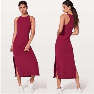 Lululemon Get Going Midi Dress